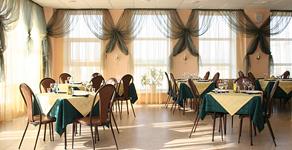Гостиница Диана, столовая