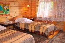 Гостиница Русская деревня, номер эконом