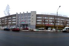 Гостиница Северные Зори, фасад