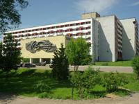 Гостиница Турист, фасад