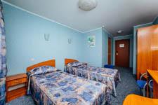 Гостиница Волга, двухместный номер