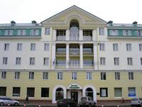 Гостиница Волхов, фасад
