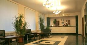 Гостиница Вологда, холл и рецепция