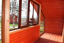 Коттедж люкс, балкон