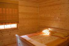 Коттедж люкс, двуспальная кровать