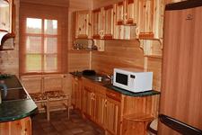Коттедж люкс, кухня