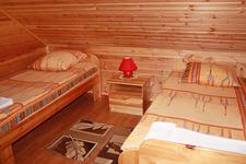 Коттедж люкс, односпальные кровати