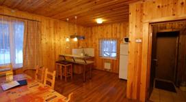 коттедж люкс на 4 чела, кухня столовая