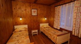 коттедж люкс на 6 человек, спальня
