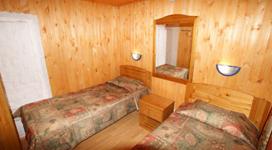 стандартный коттедж на 4 чела, спальня