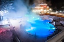Лесная сказка, термальный бассейн