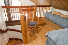 Дом в Golf Village, спальня на лофте
