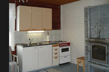 Коттедж Pertunmaa, кухня