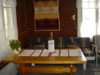 Коттедж Pertunmaa, столовая