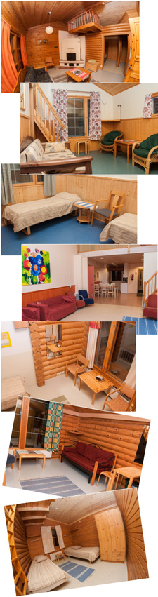 Зимний детский лагерь в Финляндии