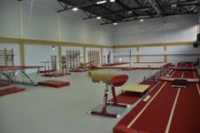 УТЦ Кавголово, гимнастический зал