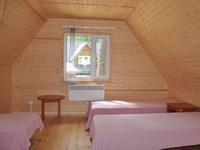 База отдыха Петяярви, четырехместная спальня в коттедже