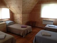 База отдыха Петяярви, трехместная спальня в коттедже