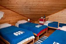 Коттедж Корабль, спальня