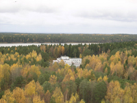 Турбаза Зеркальное озеро, территория