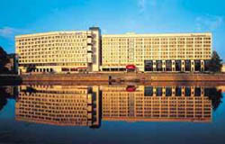 Гостиница Radisson Blu Daugava, внешний вид