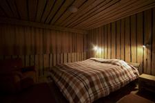 Вилла Riihitulkku, спальня с одной кроватью
