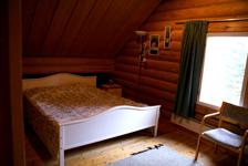 Коттедж A, спальня