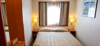 Паром Baltic Queen, каюта A с двуспальной кроватью