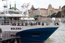 Теплоход Bolero, внешний вид