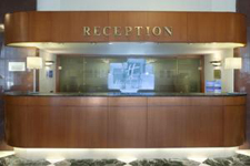 Отель Holiday Inn, рецепция