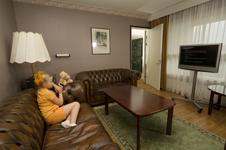 Отель Вуоксенхови в Финляндии, номер люкс