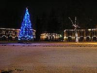 Новогодняя поездка в крепости Ленинградской области