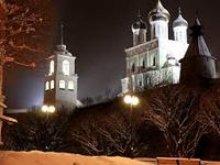 Новогодние каникулы в коттеджах в Пушкинских горах