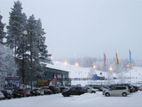 Горнолыжный отдых на Рождество в Финляндии