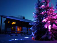 Новый год и Рождество в коттеджах в Выборгском районе