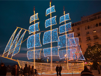 Новый год в Греции