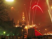 Новый год 2018 в Австрии в Вене