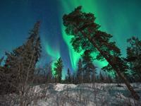 Новый год в Мурманске в краю Северного сияния