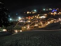 Новый год на горнолыжном курорте в Швеции