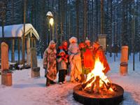Новогодний загородный отдых в Карелии