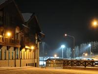 Новый год в центре лыжного спорта