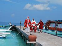 Новый год и Новогодние каникулы на Мальдивах