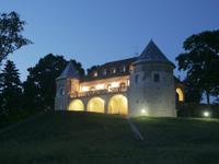 Новый год в замке в Литве