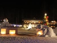 Новый год в загородном отеле в Карелии