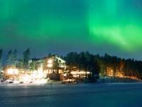Загородный отель в Лапландии на Рождество