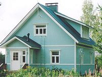Старый дом, недалеко от подъемника